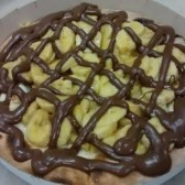 BANANA COM CHOCOLATE